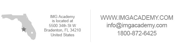 Visit imgacademy.com for more information
